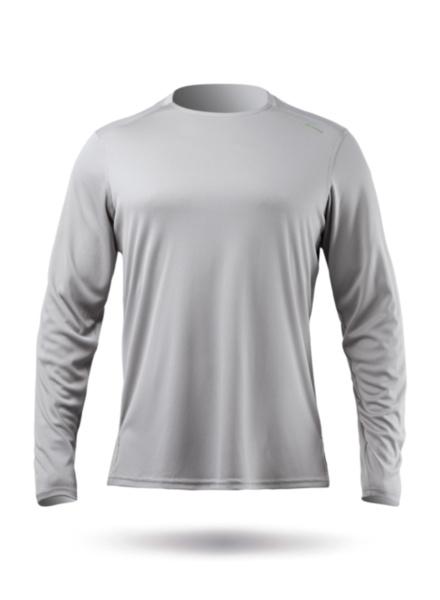 Mens UVActive Long Sleeve Top - Grey