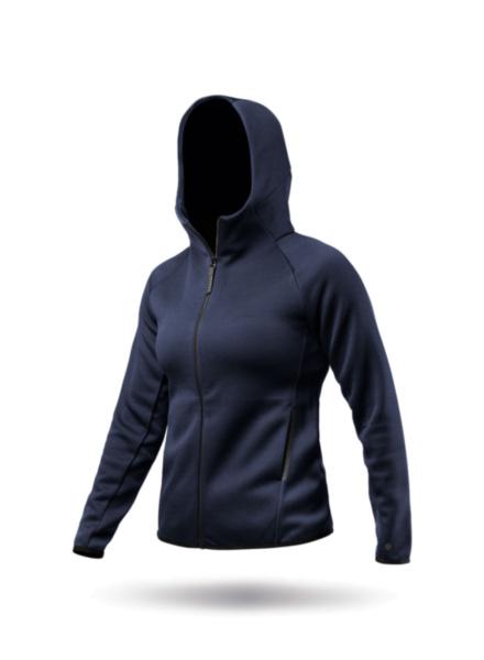 Womens Navy Tech Fleece Hoodie