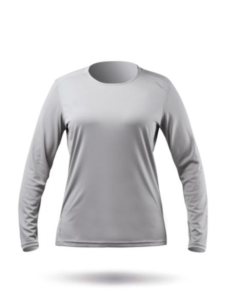 Womens UVActive Long Sleeve Top - Grey