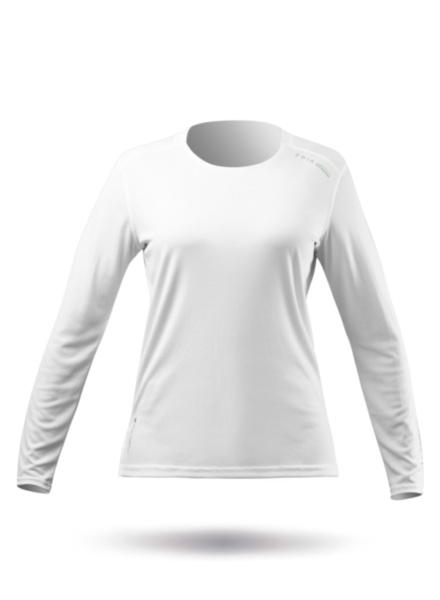 Womens UVActive Long Sleeve Top - White
