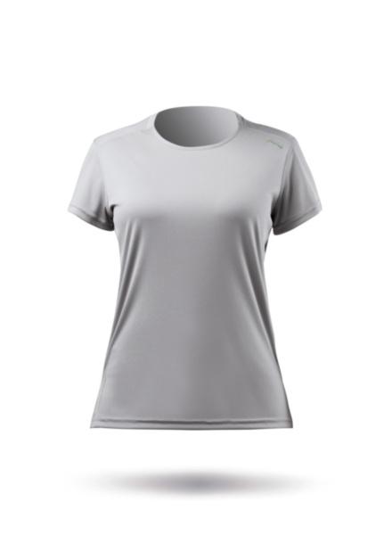 Womens UVActive Short Sleeve Top - Grey