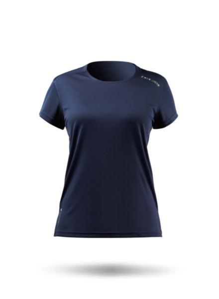 Womens UVActive Short Sleeve Top - Navy