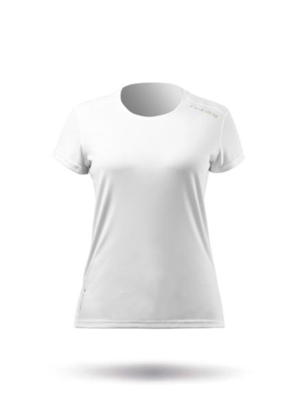 Womens UVActive Short Sleeve Top - White