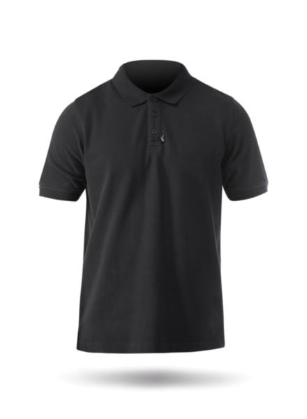 Mens Classic Cotton Polo-BK-XS