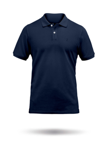 Mens Premium Cotton Polo-NVY-SSS