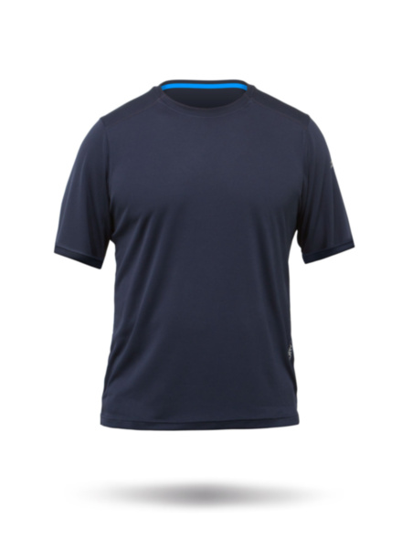 Mens Zhikdry Lt Short Sleeve Top-NV-XS