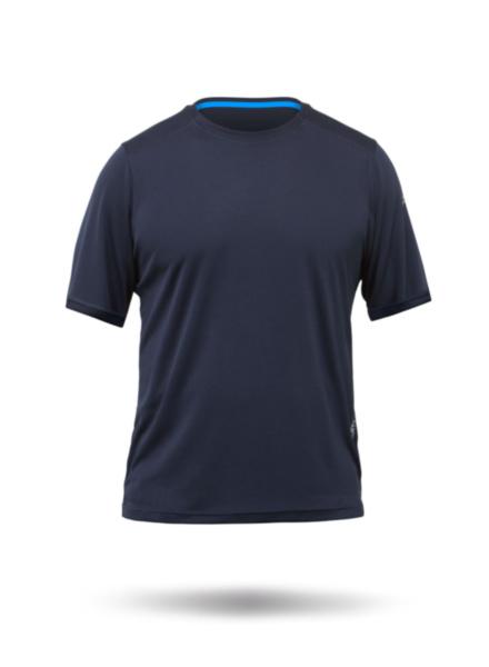 Mens Zhikdry Lt Short Sleeve Top-NV-XS