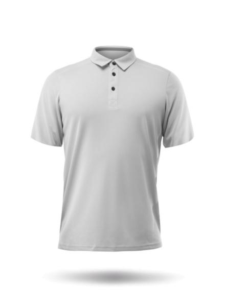 Mens Short Sleeve Zhikdry LT Polo-ASH-XSS