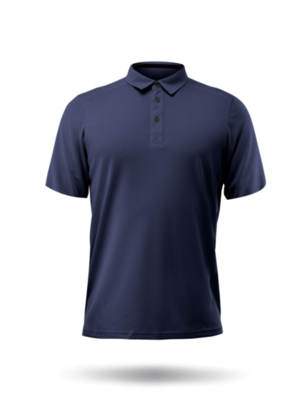 Mens Short Sleeve Zhikdry LT Polo-NVY-XSS