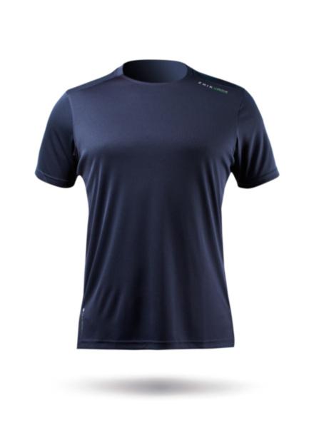 Mens UVActive Short Sleeve Top - Navy-SSS