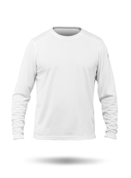 Mens Zhikdry Lt Long Sleeve Top-WT-XS