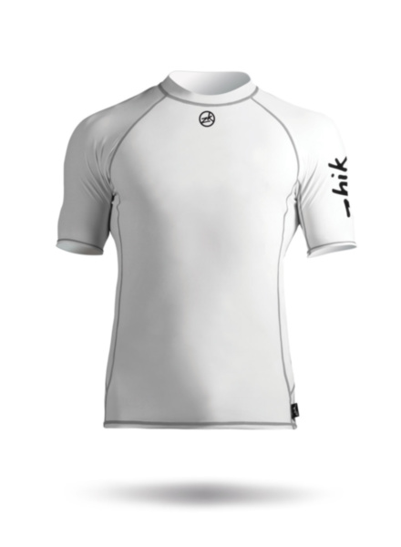 Mens Short Sleeve Spandex Top-WT2-XS