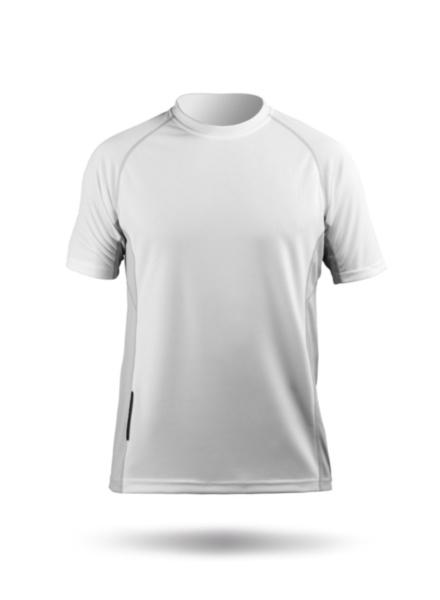 Mens Short Sleeve Zhikdry Top-WT-XS