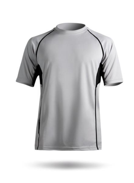 Mens Short Sleeve Zhikdry Top-ASH-XS