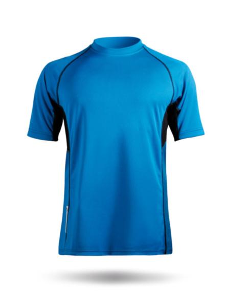 Mens Short Sleeve Zhikdry Top-BL-XS
