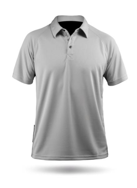 Mens Short Sleeve Zhikdry Polo-ASH-XS