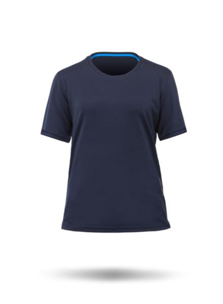 Womens Zhikdry Lt Short Sleeve Top-NV-XS