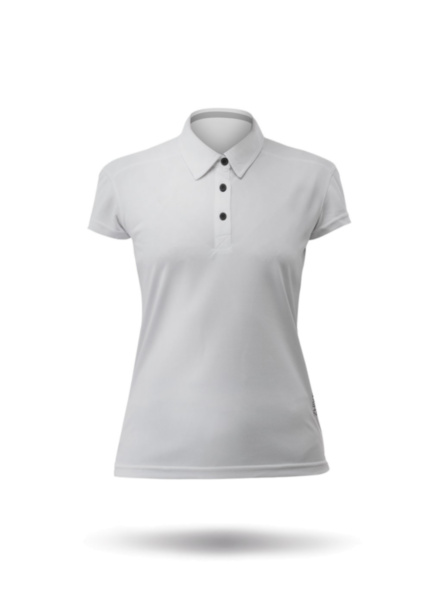 Womens Short Sleeve Zhikdry LT Polo-ASH-XSS