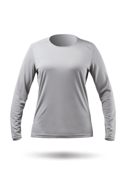 Womens UVActive Long Sleeve Top - Grey