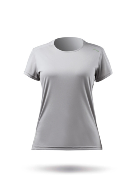 Womens UVActive Short Sleeve Top - Grey-XSS