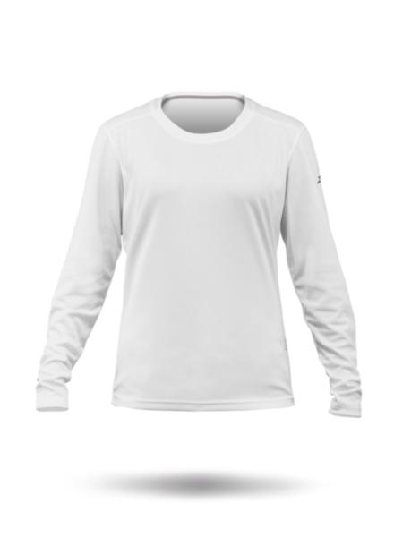 Womens Zhikdry Lt Long Sleeve Top-WT-XS