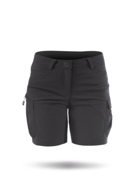 Womens Harbour Shorts-BLK-008