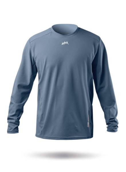 Mens Long Sleeve XWR Top - Cool Grey-SSS