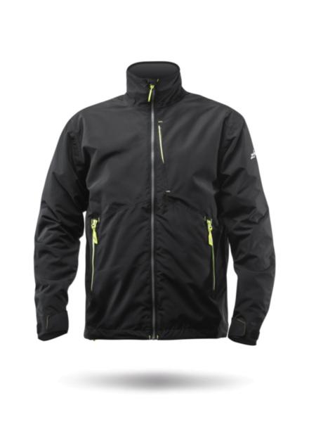 Mens Z-Cru Fleece Jacket - Black-XSS