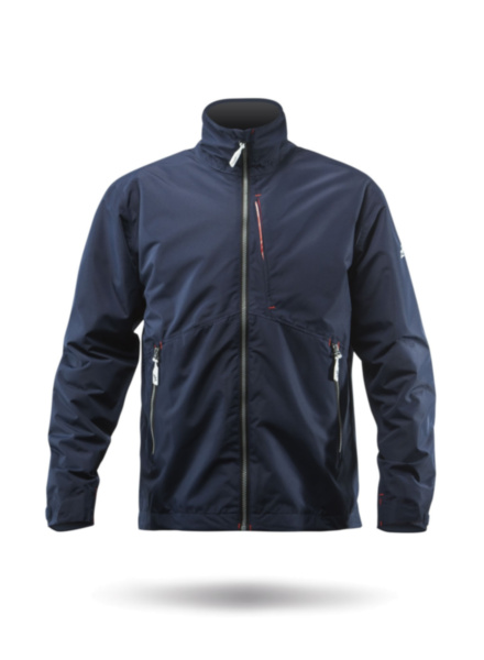 Mens Z-Cru Fleece Jacket - Navy-XSS