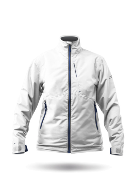 Womens Z-Cru Jacket - White-XSS